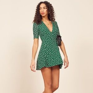 Reformation Lucky Dress (Chive)